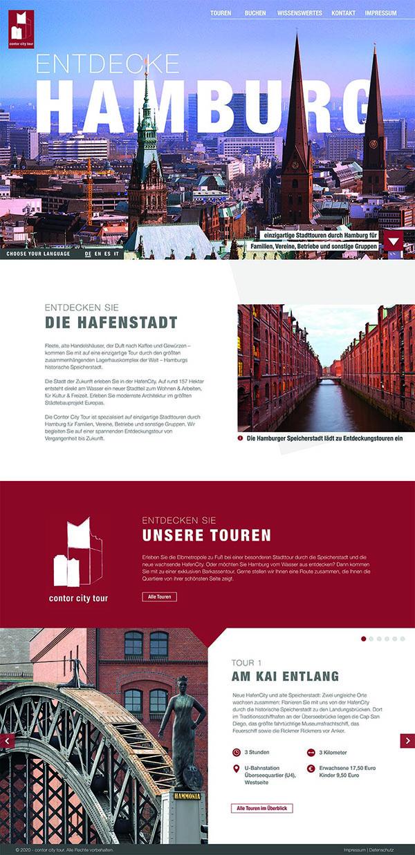 Website HH Tourenguide